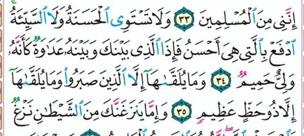 ولا تستوي الحسنة ولا السيئة شوف حكمة ربنا و عدلة و رحمتة