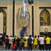 Mosque Installs Giant Claw To Extract Worshippers Who Don't Turn Their Cell Phones Off During Prayer