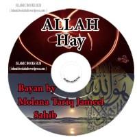 Allah Hay bayan by Maulana Tariq Jameel Sahib