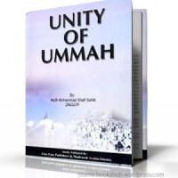 Unity of Ummah By Shaykh Mufti Muhammad Shafi Usmani (r.a.)
