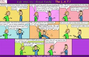 The L.A.T. - Life with the Ahmad Family (Islamic Comics)