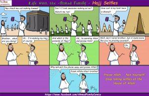 Hajj Selfies - Ahmad Family Comic
