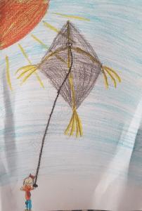Kite Flyer - Hana Abdus Samad - Illustrations by Muslim Kids