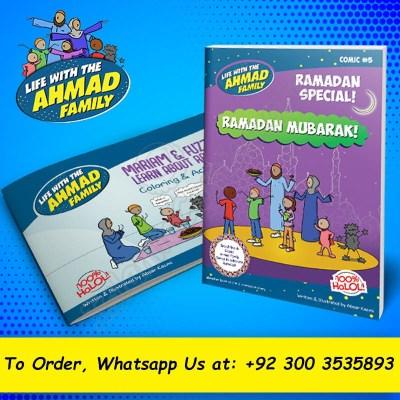 Ahmad Family Ramadan Comic & Activity Book (Islamic Comics)