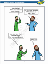 Life with the Ahmad Family - Ramadan Special Comic