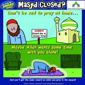 The Masjid is Closed - Ahmad Family Comics