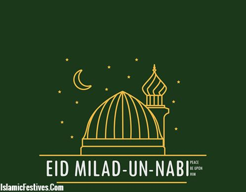 Eid Milad un Nabi in Urdu Text Wishes, Quotes, Greetings & Images