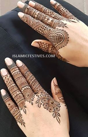 33+ BEST] Simple Arabic Mehndi Designs for Back Hands for