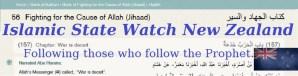 Islamic State Watch New Zealand