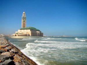 Hassan (II) Mosque in Casablanca – Morocco