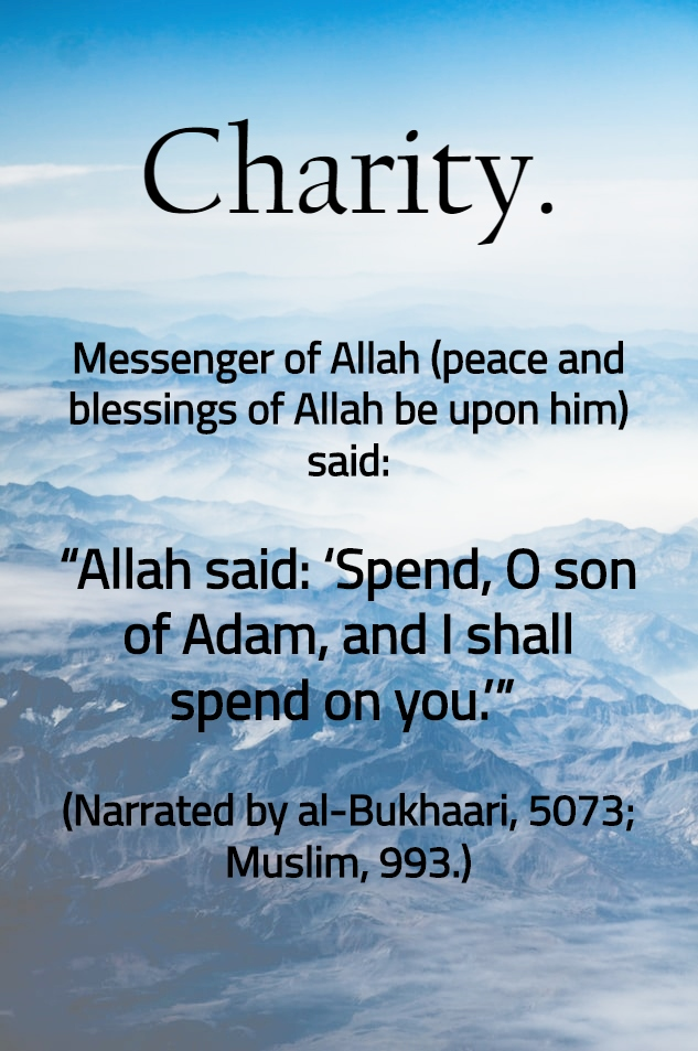 Charity - Islamic Quotes in Englsih