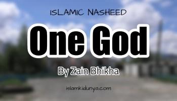 One God - By Zain Bhikha