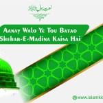 Aanay Walo Ye Tou Batao Shehar-e-Madina Kaisa Hai
