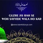 Guzre Jis Rah Se Woh Sayyide Wala Ho Kar