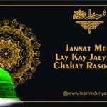 Jannat mein lay kay jaey Ghi Chahat Rasool ki Lyrics