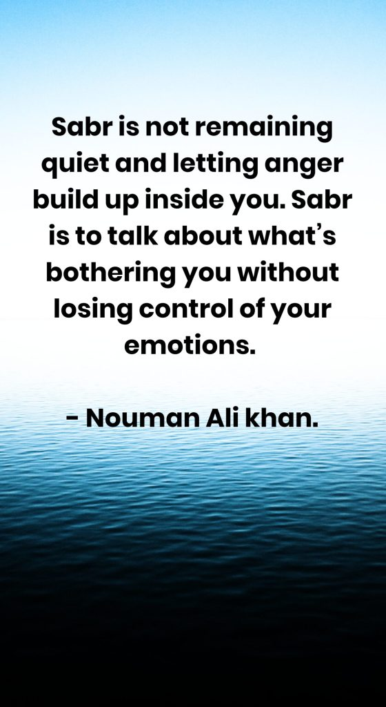 Quotes About Patience (Sabr)