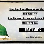 Koi Gul Baki Rahega Na Chaman Reh Jaye Ga