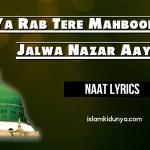 Ya Rab Tere Mahboob Ka Jalwa Nazar Aaye