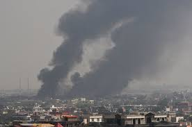 Rockets hit Afghan and kills at least eight people