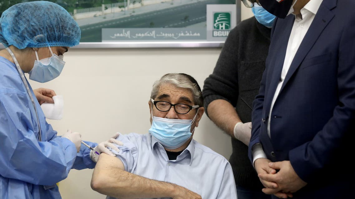Lebanon begins the vaccination campaign against Covid-19