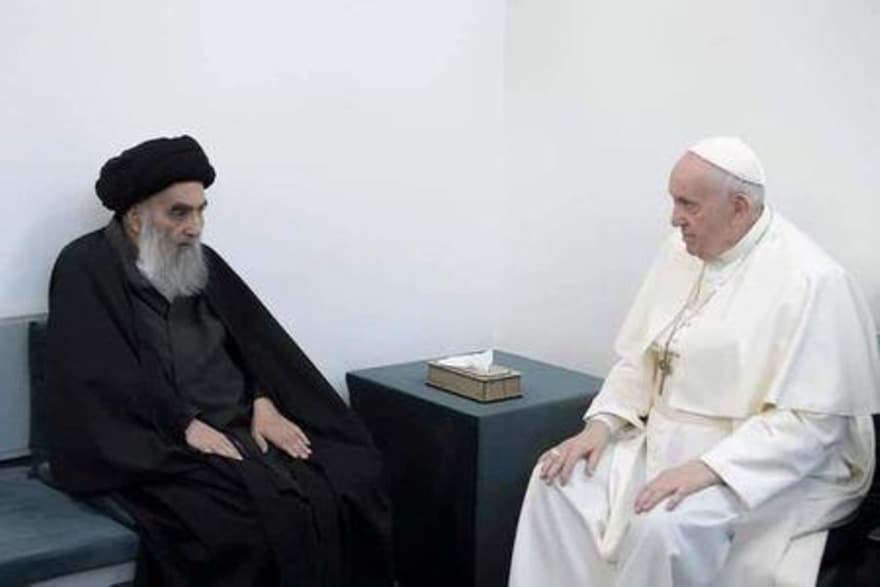 Pope Francis preaches tolerance on visit to Ur in Iraq