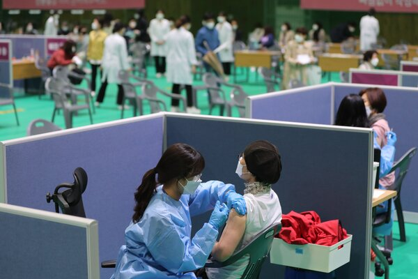 Slow vaccine rollout in Asia