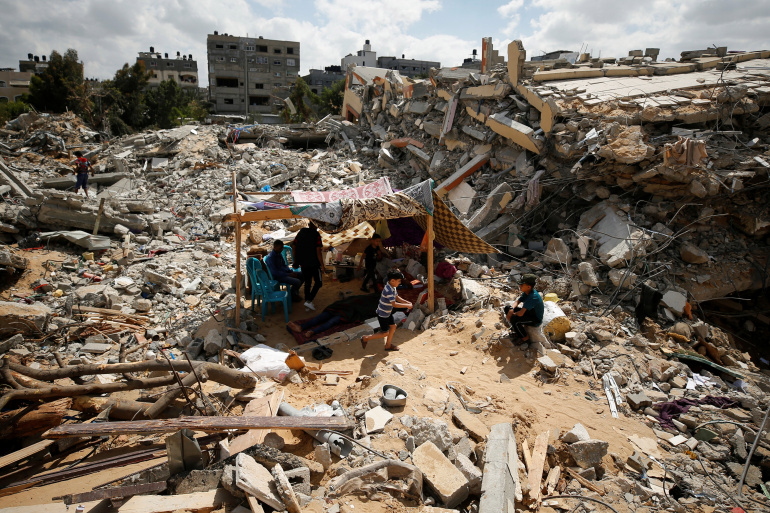 Israel strikes on Gaza may constitute war crime, says UN rights chief