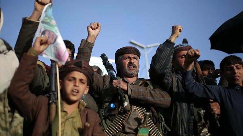 U.S imposes sanctions on Houthi military leaders