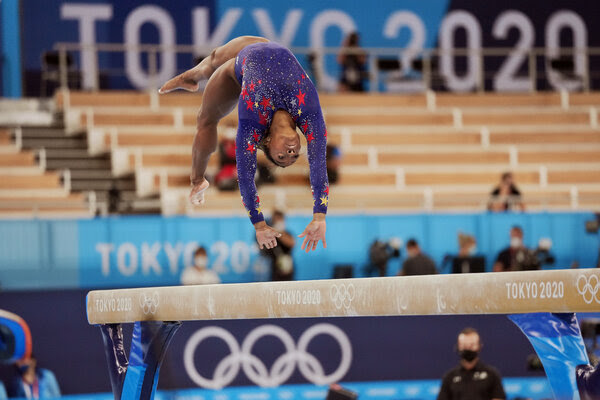 Simone Biles is back for one event