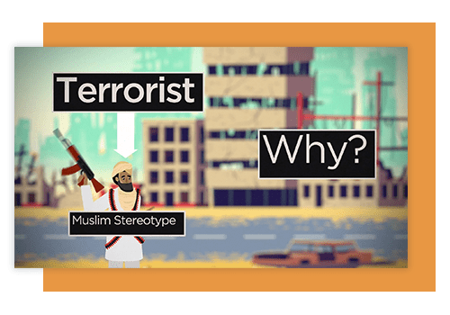Islamophobia is the myth of the muslim terrorist