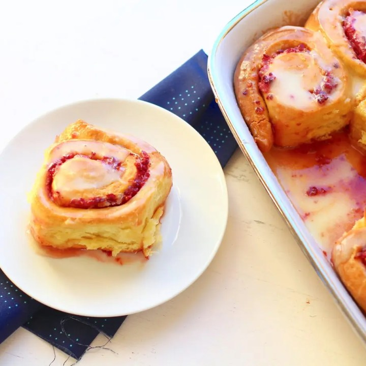 Cranberry-Orange Breakfast Rolls