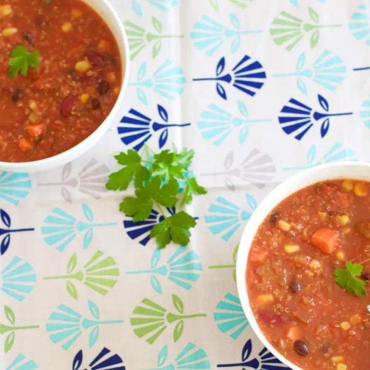 Quinoa Black Bean Chili