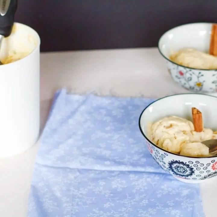 Salted Caramel Apple Pie Ice Cream