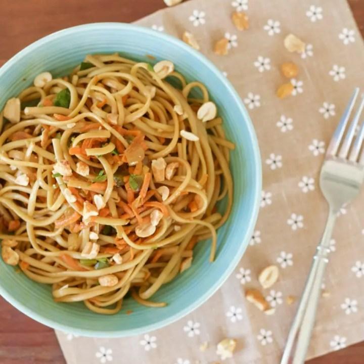 One Pot Thai Noodles