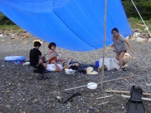 甑島のリピーター達4
