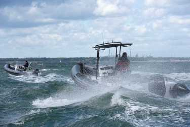 Island 7.5m RIBs in the Solent