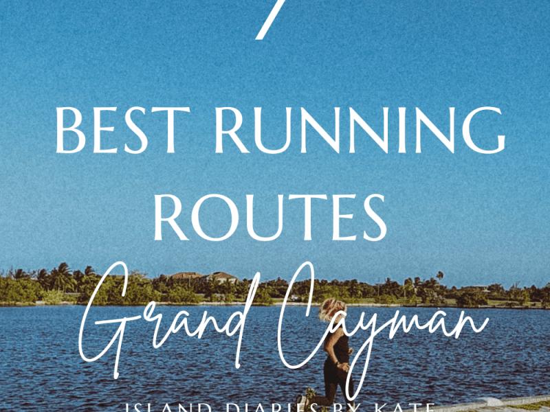 7 best runnning routes grand cayman