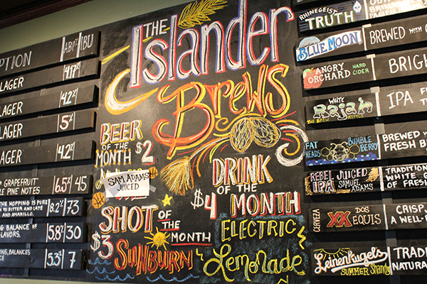 Office Parties at the Islander