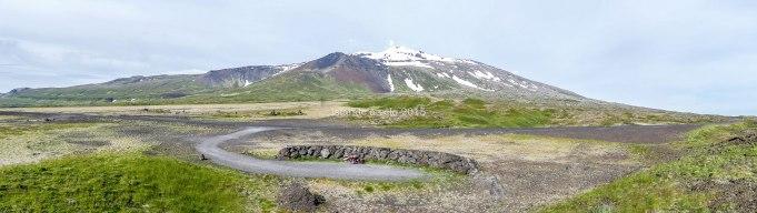voyage à vélo en Islande sur la péninsule de Snaefellsnes