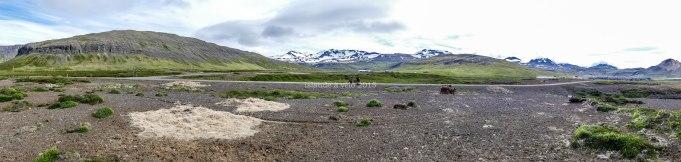 voyage à vélo dans les fjords de l'ouest en 2015
