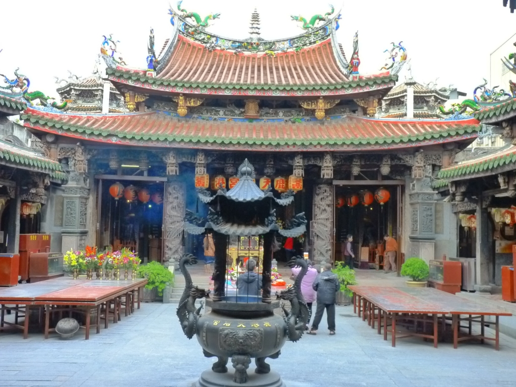 Photo: Temple of Matsu in Lukang, Taiwan