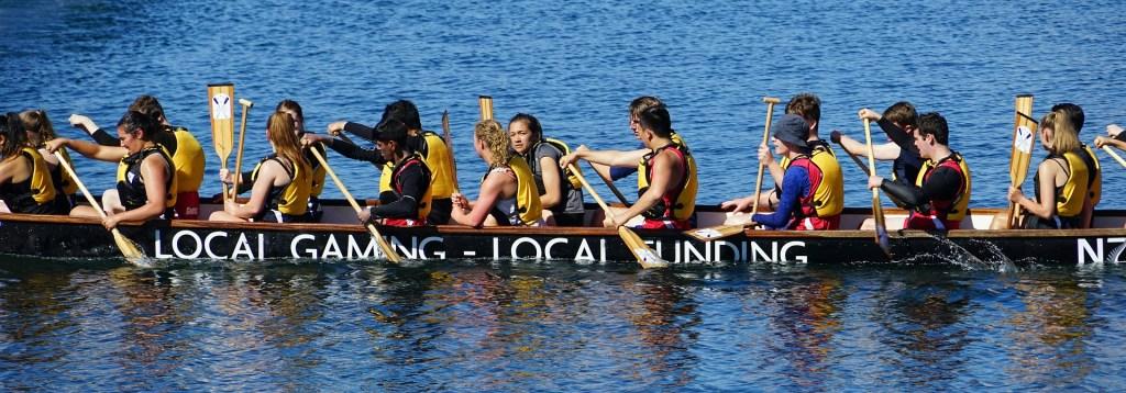 Photo: New Zealand dragon boat racing team