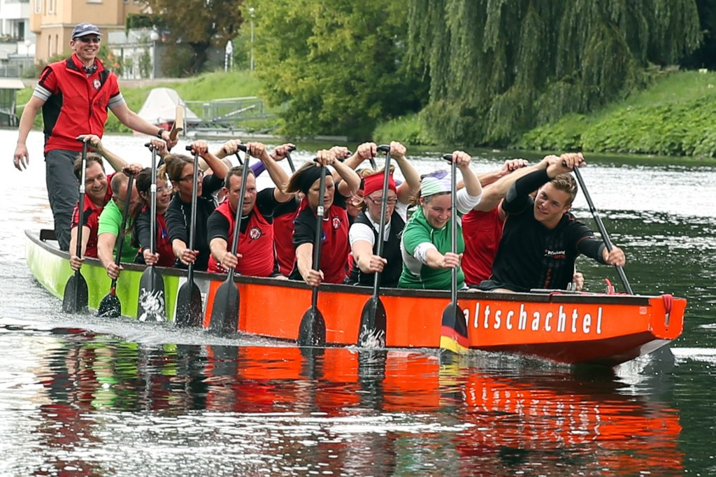 Photo: Dragon Boat racing in the West