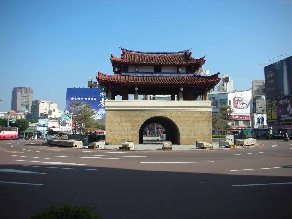 Photo of Old East Gate in Downtown Hsinchu
