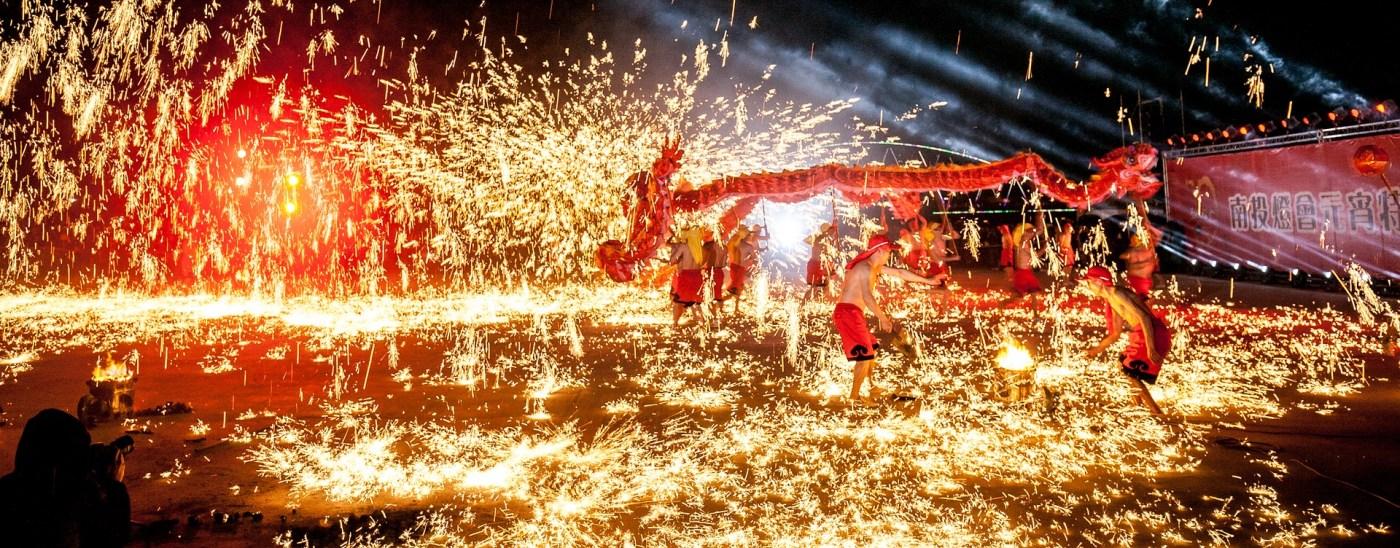 Photo: Taiwanese fireworks festival