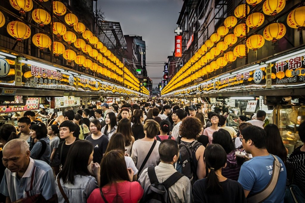 Photo: Taiwanese night market
