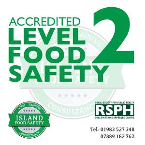 Level 2 Food Safety and Hygiene Training Newport Isle of Wight 4 March 2020