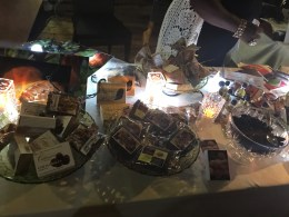 Various Cocoa/Chocolate Products on display at the Grand Opening