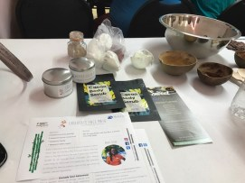 Our setup and instructions for making our cocoa products