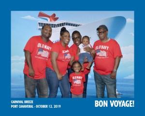 Carnival Breeze Bon Voyage Picture